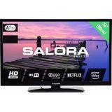 Salora LED TV 24HSB3704 (Zwart)