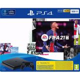 PlayStation 4 Slim (500GB) + FIFA 21