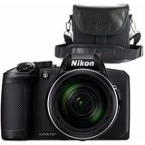 Nikon compact camera COOLPIX B600 Zwart + Draagtas