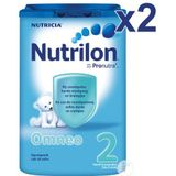 Nutrilon Duopack Omneo 2 Opvolgmelk Poeder 2x800g