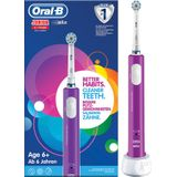 Oral-B Junior 6+ Ans Elektrisch Tandenborstel Vitalité Purple 1 Stuk