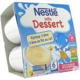 Nestle Baby Dessert Rijstpap Creme Pot 4x100g