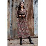 Femme Maxi-jurken Multicolor Donna