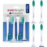 Everbright Pro Effect Standard Sonic opzetborstels - 4 stuks