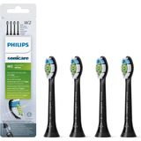 Philips Sonicare Opzetborstels Optimal White HX6064/11 - Black Edition