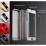 iPhone 7 / iPhone 8 Full Body 360 Super Thin Case Cover Hoesje Zilver
