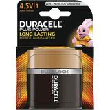 13x Duracell batterij Plus Power 4,5V, op blister