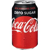 2x Coca-Cola Zero frisdrank, blik van 33 cl, pak a 30 stuks