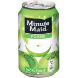 2x Minute Maid Appel vruchtensap, blik van 33 cl, pak a 24 stuks