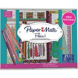 2x Paper Mate fineliner Flair coloring kit Glam-Closet