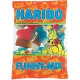 20x Haribo snoep funny-mix, zak van 200 g