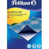 6x Pelikan carbonpapier Handifilm 205, etui van 10 vel