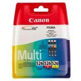 Canon »CLI-526 C/M/Y original Kombi-Pack« inktpatroon