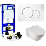 Geberit up320 toiletset set 42 boss & wessing metro 56 cm diep met sigma drukplaat