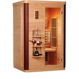 Infrarood sauna diamant 2 122x104 cm 1820w 2 persoons