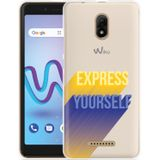 Wiko Jerry 3 Hoesje Express Yourself