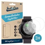 Just in Case Garmin Fenix 5 Screenprotector - 3 stuks - Crystal Clear