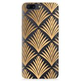 OnePlus 5 Hoesje Art Deco Gold