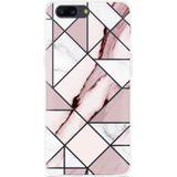 OnePlus 5 Hoesje Roze Marmer
