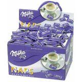 Milka chocolade Alpen melkchocolade, doos van 370 stuks