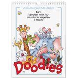 Doodles verjaardagskalender - A4