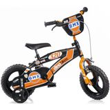 Kinderfiets Dino Bikes BMX orange: 12 inch