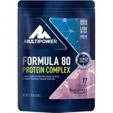 Multipower Formula 80 Proteïne blauwe bes-yoghurt