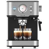 Espressomachine met melkopschuimer
