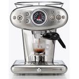 X1 E&C 60247IL Espressomaker Zilver