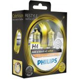 Autolampenset Philips ColorVision H4 Yellow