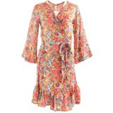 Kimono Sophie and Me Casual jurken Dames Rood S - 36