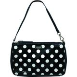 Small Polka Dot Leather Pouch -Pre Owned Condition Very Good Kate Spade Vintage Vintage Tassen Dames Zwart Onesize