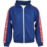 Logo Tape Hooded Track Jacket Dsquared2 Sweaters Heren Blauw M