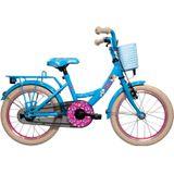 Studio 100 K3 20 Inch 28 cm Meisjes Terugtraprem Lichtblauw Kinderfiets