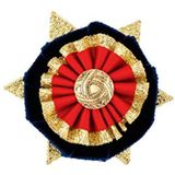 ShowQuest Boston/Ludlow Buttonhole (Navy/Red/Gold) One Size