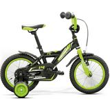 Merida BMX-fietsen 14 inch black (green/white)