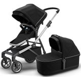 Thule Sleek Kinderwagen + Reiswieg Model 2020 Midnight Black