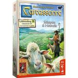 Carcassonne: schapen & heuvels - bordspel
