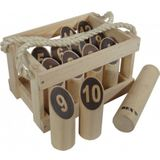 Bex number kubb original rubber hout in kist