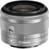Canon EF-M 15-45mm f/3.5-6.3 STM IS - Zilver