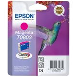 Epson Ink Cartridge T0803 Magenta Blister W/ R