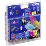 Brother Ink Cartridge Lc1000Valbp Value Pack (B