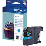 Brother Ink Cartridge Lc-123C Cyan 600 Pages