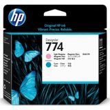 HP 774 Light Magenta/Cyan Printhead