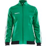 Trainingsjack CRAFT - PRO CONTROL WOVEN JACKET Women L Groen Teamlijn Craft Pro Control