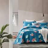 Bedsprei Flamingo Blue - 180 x 250
