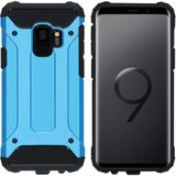 iMoshion Rugged Xtreme Backcover voor de Samsung Galaxy S9 - Lichtblauw
