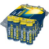 Box met 24 x AAA Varta High Energy alkaline batterijen