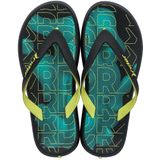Ipanema Slippers Rider Energy Kids Zwart
