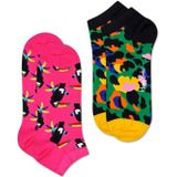 sneaker 2-pack toucan & leopard multi